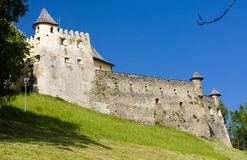 Stara Lubovna Castle royalty free stock photos