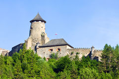 Stara Lubovna Castle stock photography