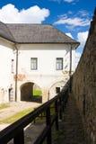Stara Lubovna Castle stock photo