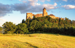 Stara Lubovna castle in Slovakia, Europe landmark royalty free stock photo