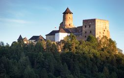 Stara Lubovna castle in Slovakia, Europe landmark stock photography
