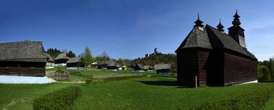 Stara Lubovna Museum & Castle, Spis region, Slovakia stock images