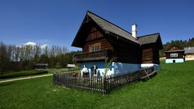Stara Lubovna museum, Spis region, Slovakien Arkivbilder