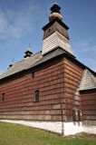 Stara Lubovna museum. Wooden church in Stara Lubovna open air museum stock photos