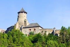 Stara Lubovna slott Arkivbild