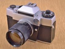 Stara lustrzana kamera Obraz Royalty Free