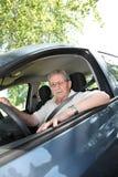 stara mężczyzna kierownica Obraz Stock