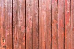 Stara malująca drewno ściana - tekstura lub tło Zdjęcia Royalty Free
