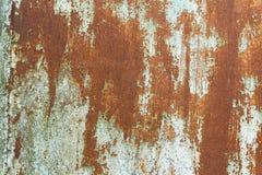 stara malująca ośniedziała powierzchnia Fotografia Stock