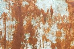 stara malująca ośniedziała powierzchnia Zdjęcia Stock