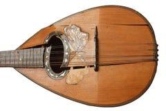 Stara mandolina łamająca Fotografia Stock