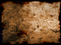 stara manip papierowa spalone zdjęcie Fotografia Stock