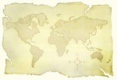 stara mapa Obrazy Stock