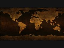stara mapa royalty ilustracja