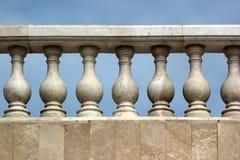 Stara marmurowa balustrada Obraz Stock