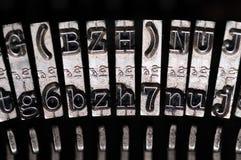 stara maszyna do pisania obrazy stock