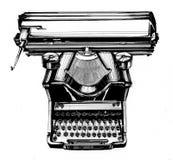 stara maszyna do pisania Obraz Stock