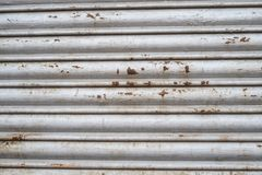 Stara metal żaluzja zdjęcia stock