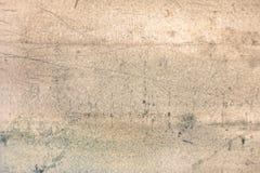 Stara metal tekstura z ocienionymi krawędziami Fotografia Stock