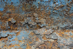 Stara metalu żelaza rdza fotografia royalty free