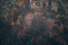 Stara metalu żelaza rdzy tekstura obraz stock