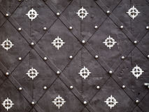 Stara metalu drzwi tekstura Obrazy Stock