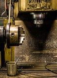 Stara mielenie maszyna Fotografia Royalty Free