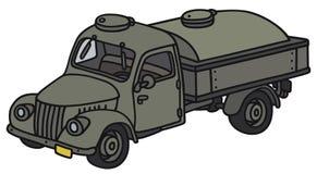 Stara militarna cysternowa ciężarówka Obrazy Royalty Free
