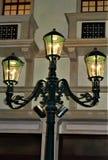 Stara mody latarnia Lite fotografia stock