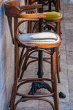 Stara mody stolec Obraz Stock