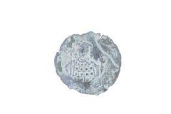 Stara moneta odizolowywająca na bielu Zdjęcie Royalty Free