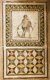 Stara mozaika w Hatay archeologii muzeum, Turcja obraz royalty free