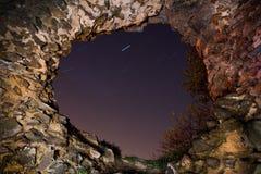 stara mur dziurę Obrazy Royalty Free