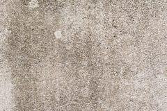 Stara myjąca granolithic koniec ściana zdjęcie stock