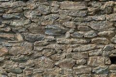 Stara naturalna kamienna ściana Zdjęcie Royalty Free