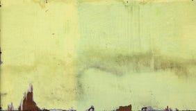 Stara nierówna farba na triplex ścianie fotografia royalty free
