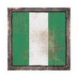 Stara Nigeria flaga ilustracji