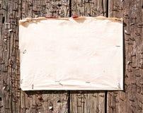 Stara notatka zdjęcia royalty free
