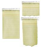 stara notepad papierowa taśma Fotografia Royalty Free