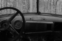 Stara ośniedziała ciężarowa fotografia obrazy royalty free