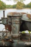 Stara ośniedziała maszyneria Fotografia Royalty Free