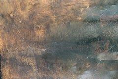 Stara ośniedziała metal tekstura Fotografia Royalty Free