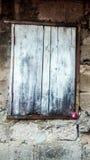 Stara okno wzoru tekstura Fotografia Stock