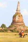 Stara pagoda w Thailand Obrazy Royalty Free
