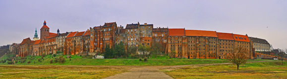 stara panorama city Zdjęcia Royalty Free