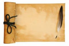 stara papierowa dutka Fotografia Royalty Free