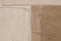 stara papierowa konsystencja uwarstwiający papier na kanwie Kreatywnie abstrakcjonistyczna ręka malował tło, tapeta, tekstura szt obrazy royalty free