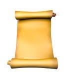 stara papierowa pergaminowa ślimacznica Zdjęcia Stock