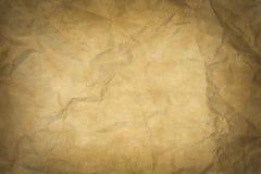 Stara papierowa tekstura lub tło Zdjęcie Stock