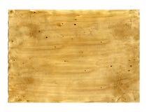 Stara papierowa tekstura na białym tle Fotografia Stock